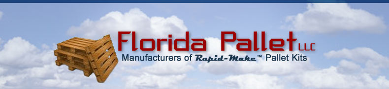 wood pallets, florida wood pallets, rapid make pallets